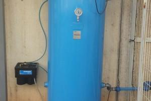 instalacion calderin airecomprimido