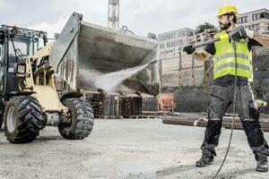 Limpieza de vehículos/maquinaria industrial: