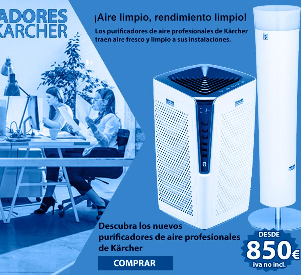 promocion purificadores de aire karcher