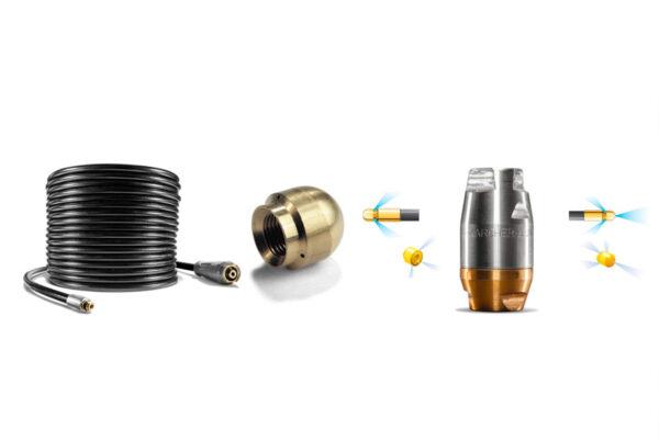 oferta pack 1 - 9530-859.0 kit limpieza tuberías karcher